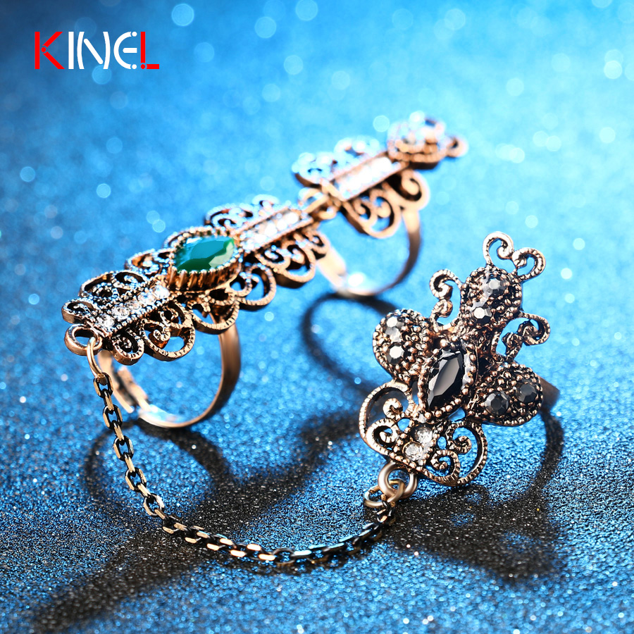 turkish wedding rings price turkish wedding ring KIVN Fashion Jewelry CZ Cubic Zirconia Turkish Blue eye Bridal Wedding Engagement Rings for Women Girls