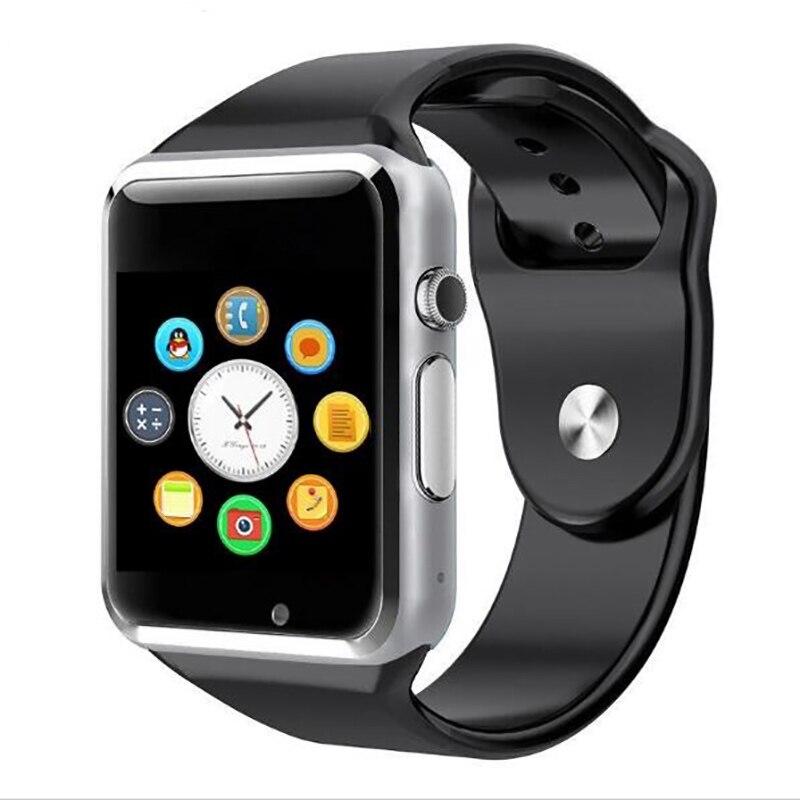 Intelligente Orologio Bluetooth A1 Android Phone Call Relogio 2G GSM SIM Carta di TF Della Macchina Fotografica per il iphone Samsung HUAWEI Smartwatch PK Q18 DZ09