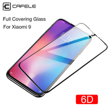 Cafele 6D Edge Screen Protector For Xiaomi mi 9 Protective Glass 9H HD Clear Full Covering Tempered Flim for mi9