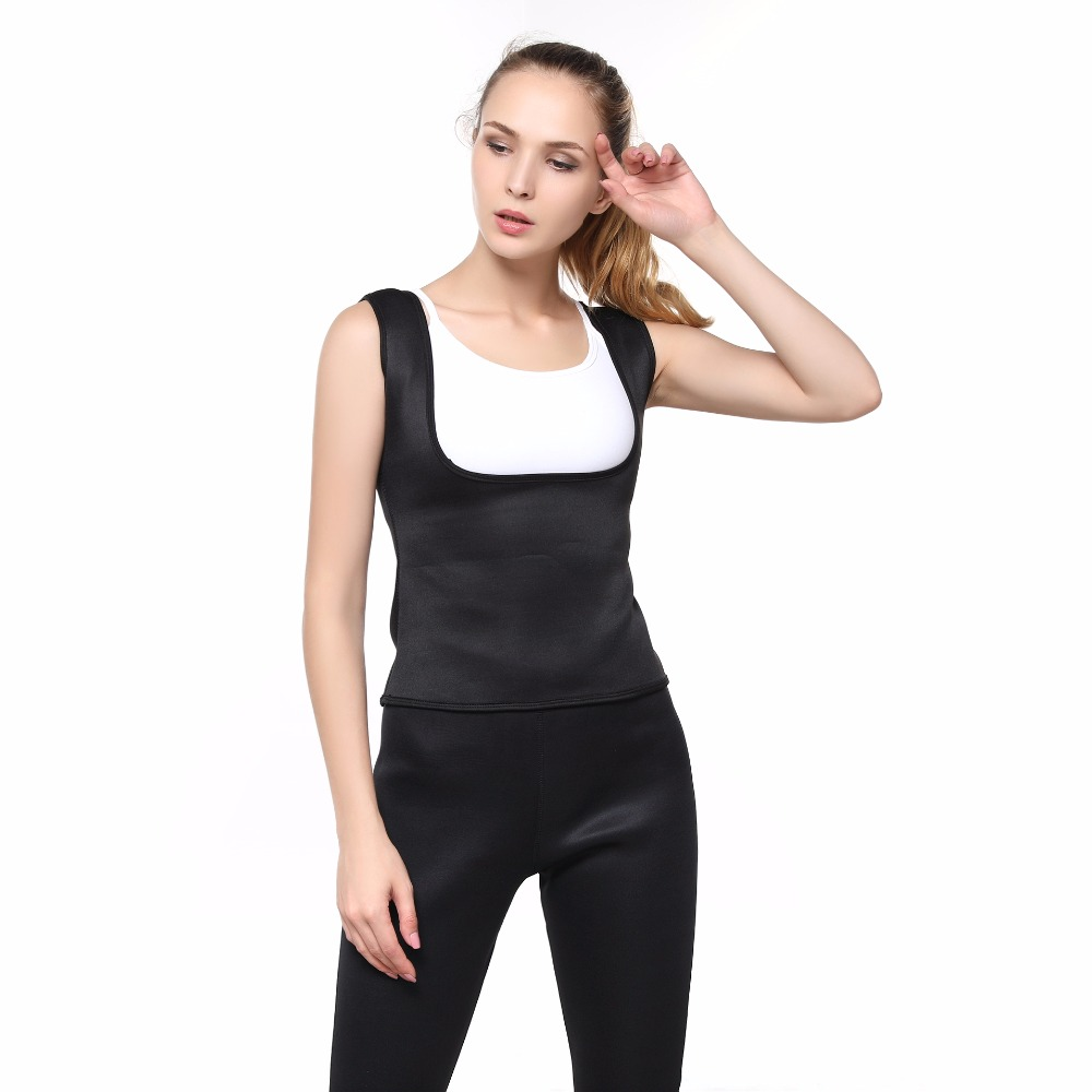 1e08dc665b New Shapers Waist Trimme Slimming Shirt Body Shaper Slim Waist Trainer Vest  Corset Camisole Plus Size Thermal Weight Loss Shaper-in Tops from Underwear  ...