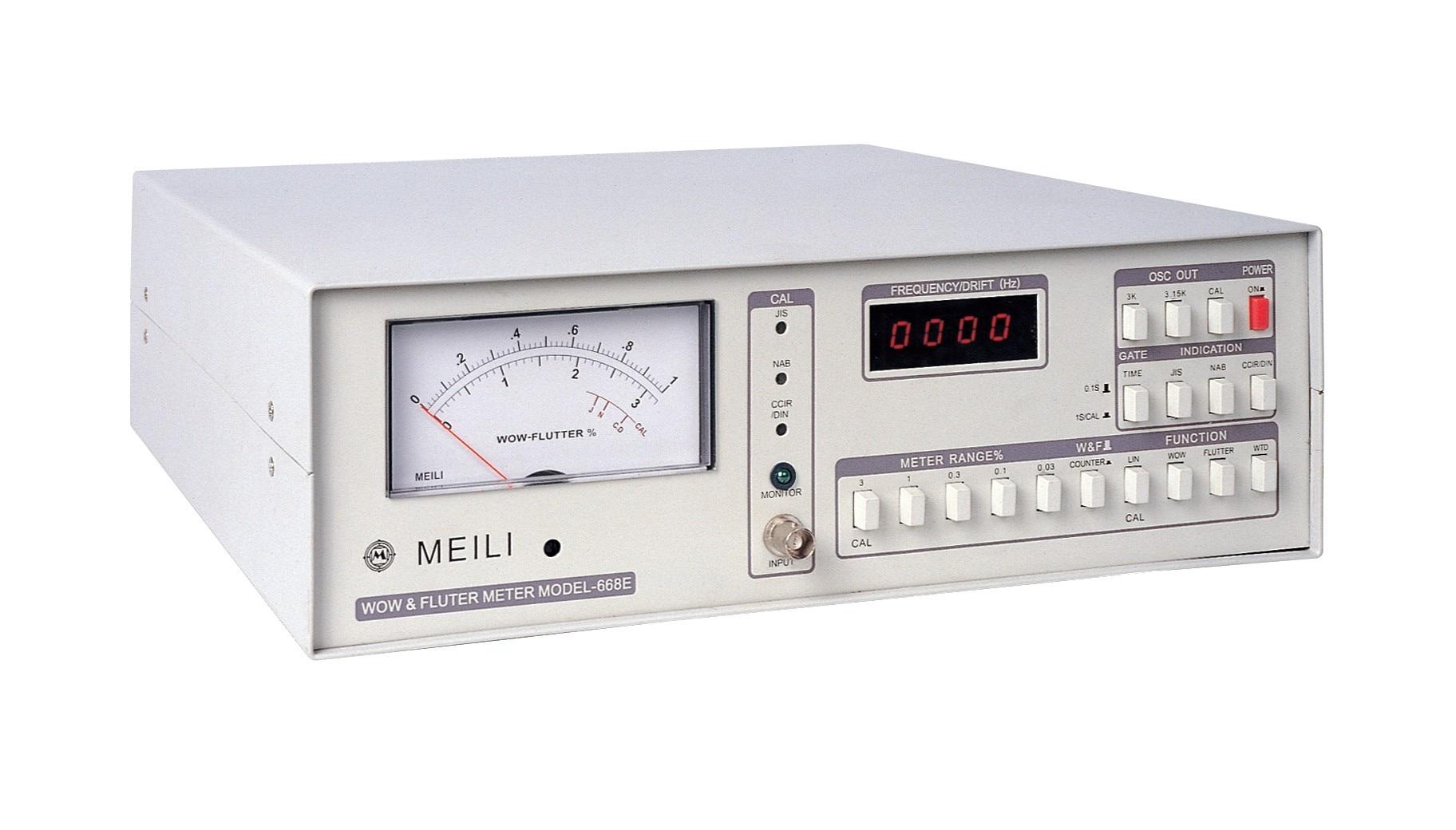 668E WoW и флаттер скорость тестер CD DVD смятение тестер измерения частоты: 10 9999 Гц