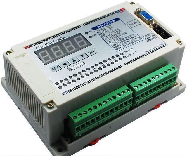 Бесплатная доставка ПЛК Промышленного управления доска Программируемый контроллер Аналоговый вход/выход высокоскоростной импульсов Датчика