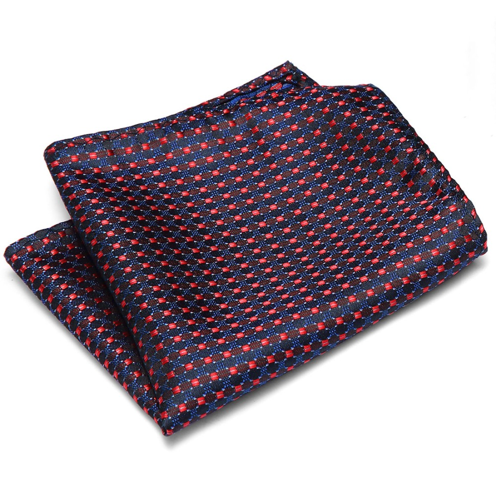 22*22 Cm Men's Business Suits Pocket Square Handkerchiefs For Wedding Fashion Polka Dots Hankies Men's Pocket Towel
