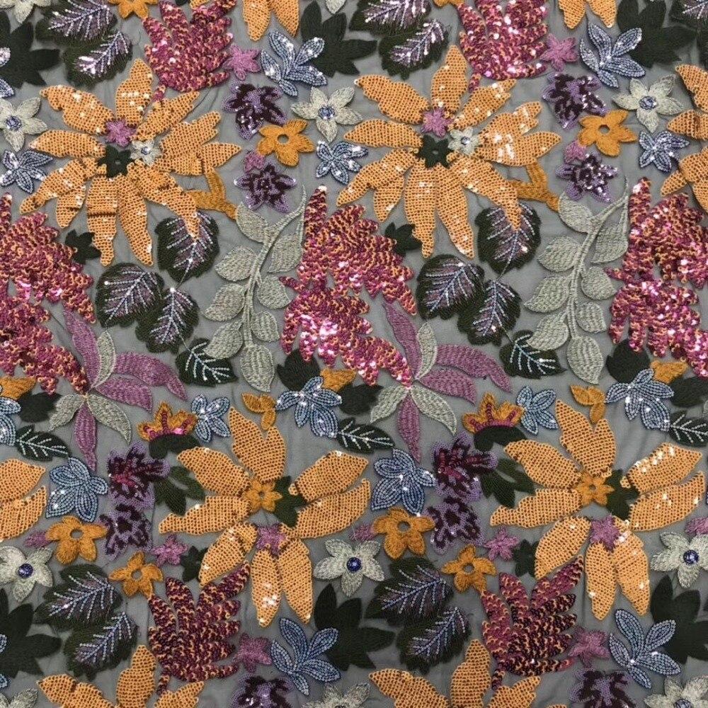 Ev ve Bahçe'ten Dantel'de Işlemeli Tül Fransız Örgü Dantel kumaş en Kaliteli JIANXI.C 51104 Nijeryalı Fransız Dantel Kumaş'da  Grup 1