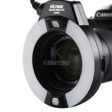 """Viltrox JY-670C макро E-TTL кольцевая фотовспышка """"Speedlite"""" для Canon DSLR Камера полости рта зубы украшения для съемки крупным планом"""