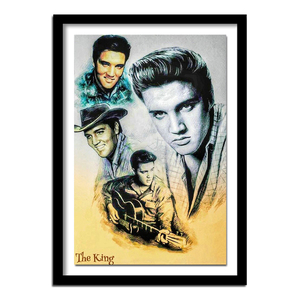 Full Square Round Drill 5D DIY Diamond Painting Elvis Presley 3D Embroidery Cross Stitch Rhinestone Home Decor Gif(China)