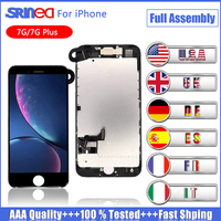 LCD Display For iPhone 7 7G Plus Touch Screen Digitizer Full Set Assembly Replacement +Front Camera+Sensor+ Speaker Apple 7plus