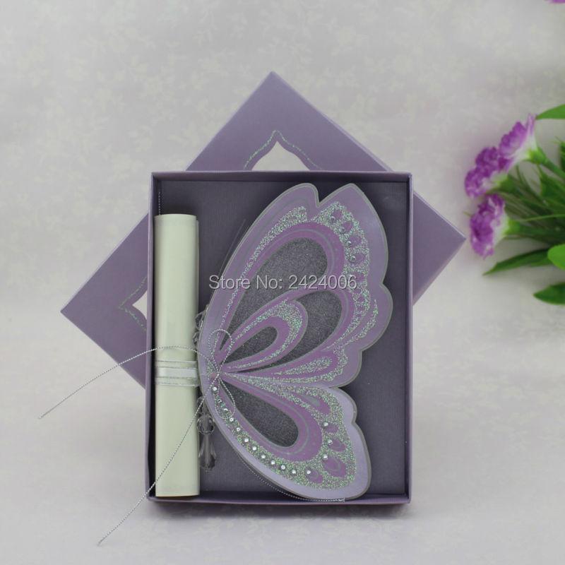 15 Sets/Lot Wholesale Purple Theme Luxury Royal Butterfly Scroll ...
