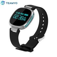 Teamyo E08 Smart Band Bluetooth 4.0 монитор сердечного ритма плавание IP67 Водонепроницаемый активно фитнес-трекер для IOS телефонах Android