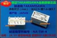 Darmowa wysyłka dużo (10 części/partia) 100% oryginalny nowy TAKAMISAWA NA-5W-K NA5W-K NA-12W-K NA12W-K NA-24W-K NA24W-K DIP8 2A przekaźnik sygnału