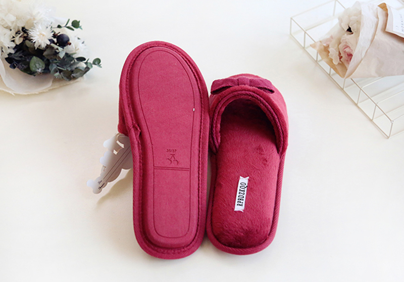 667e610937b Shoes Cute Indoor Korean Bedroom Designer Women Chinese Home Bow ...
