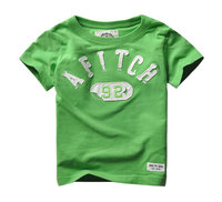 High Quality 2 6ages Boys T Shirt Summer Baby Kids Boy Tops Tee T Shirts For