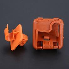 цена на 1U0823570A Plastic Car Roomster Hood Bonnet Rod Stay Bracket Buckle Clip For Skoda Fabia Octavia MK2 2004-2012 2013
