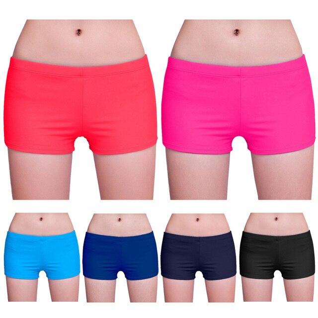 Nouveauté femmes Yoga Shorts maillot de bain Bikini bas de haute qualité été plage vêtements entraînement pantalons de course B2Cshop