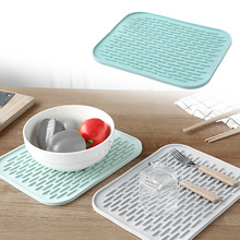 Non-slip Placemat Bar Mat Baby Kids Plate Mat Table Mat Heat Resistant Coffee Cup Mats Kitchen Accessories 1pc round silicone cup mat non slip heat resistant mat coaster bowl coffee cup placemat holder table mat kitchen accessories