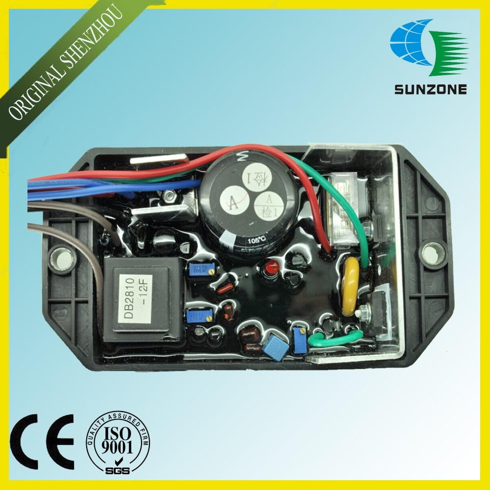 Free Shipping Generator Voltage Regulator KI-DAVR-150S KI DAVR 150S Diesel Generator AVR Single Phase generator avr automatic voltage regulator davr 150s3
