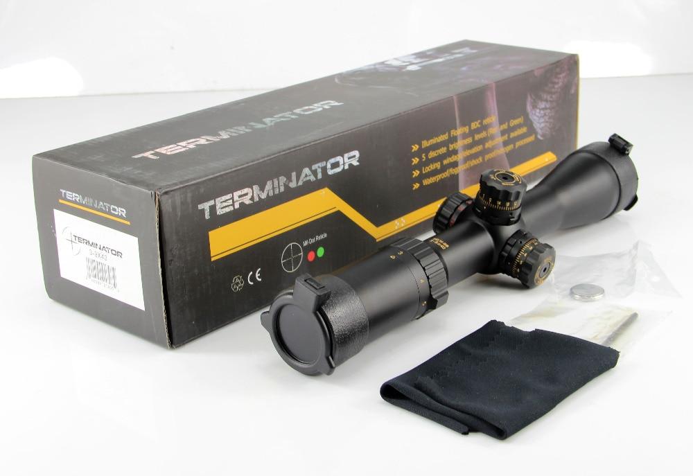 Tactical Military 3-9x40 Riflescope Mil Dot Air Rifle Gun Optics hutning Gun-Sight Scope for Long Pistol прицел hawke panorama ev 3 9x50 10x half mil dot ir hk5161
