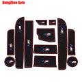 Автомобилей Non-Slip Интерьер кубок подушки Дверной Коврик охватывает Кубок Мат стикер, Пригодный Для 2014 BMW 5 Серии 520 525 530 528 535 Li 12 шт. за комплект