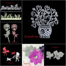 Tree Leaves Clear Stamp Steel Embossing Craft DIY Leaf Stencil For Metal Cutting Dies Machine New 2018 Scrapbooking Die Cutter(China)