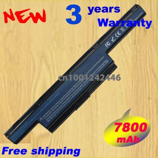 7800mah Laptop Battery For Acer Aspire 5736Z 5736ZG 5741 5741G 5741Z 5742 5742G 5742Z 5742ZG 5750
