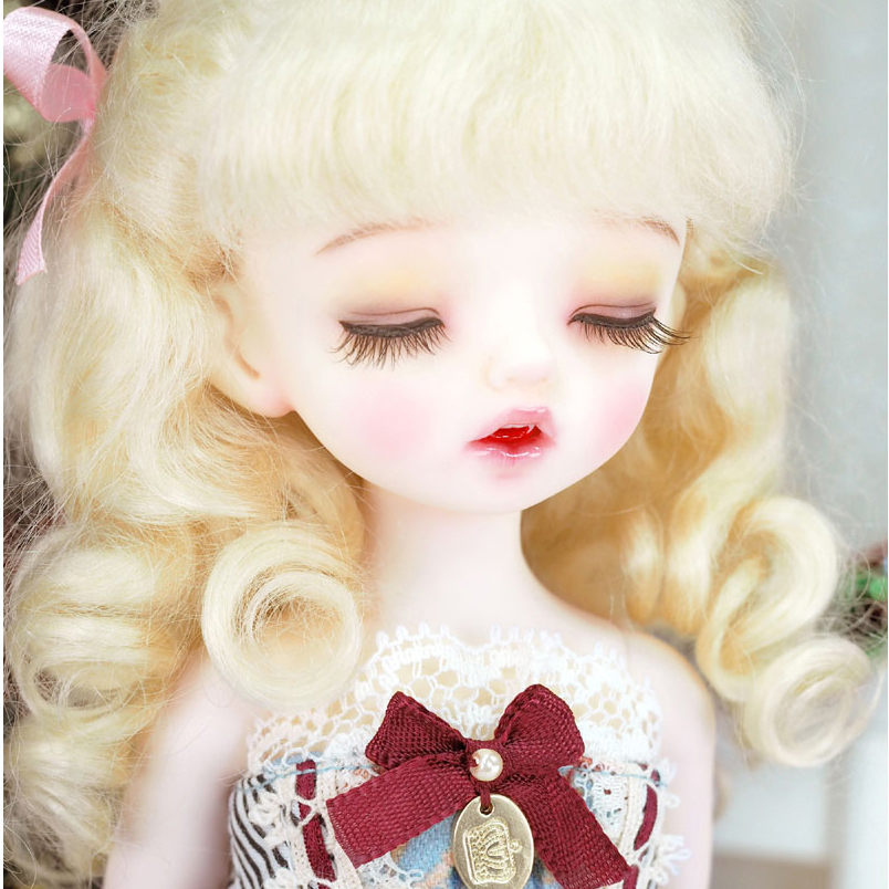 stenzhornNew products bjd/sd doll Karou sleep eye card meat 1/6 male and female optional doll high quality toys free eyes