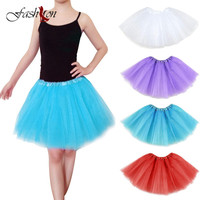 New Arrival Adult Child Professional Short Ballet Tutu High Quality Practice Rehearsal Ballet Half Tutu Skirt
