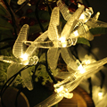6M 30LED Dragonfly Energy Saving Fairy LED String Light Lamp Outdoor Christmas Festival Party Garden Decoration lumiere