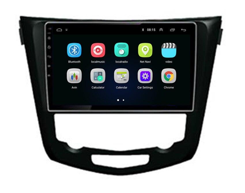 ChoGath 10.2'' Car Multimedia Player Quad Core Android 8.0 Car Radio GPS Navigation Player for Nissan X trail/Qashqai 2013 2016