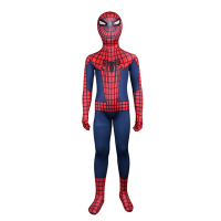 Kids Spider Man Costume Classic Piderman Cosplay Costume Amazing Halloween Costume Party Cosplay Clothes Full Body
