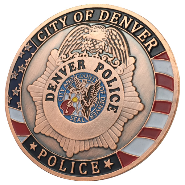 The HOT Selling City Of Denver Police Department Antique