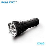 Imalent DX80 32000LM 806m 18650 بطارية LED الشعلة مصباح USB شحن سريع 8 قطعة كري XHP70 مصباح ليد جيب للبحث