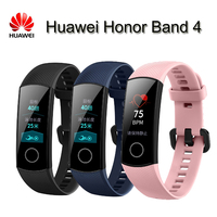 Original New Huawei Honor Band 4 Smart Wristband Amoled Color 0 95 Touchscreen Swim Posture Detect