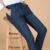 Nueva corea moda hombre de sólido ocasional algodón de abrigo para hombre pantalones rectos otoño nuevos hombres de la llegada de pantalones delgados 5 colores