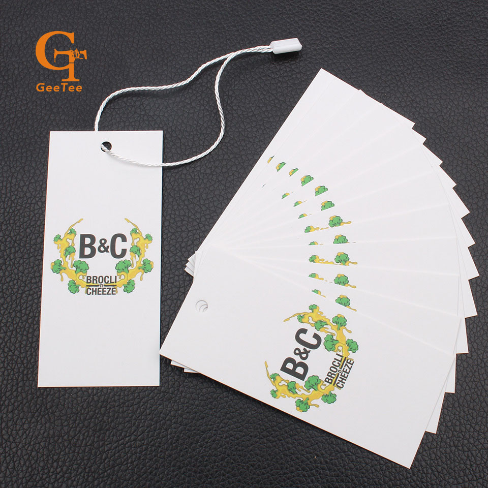 Aliexpress.com : Buy custom logo brand paper price hang tag ...