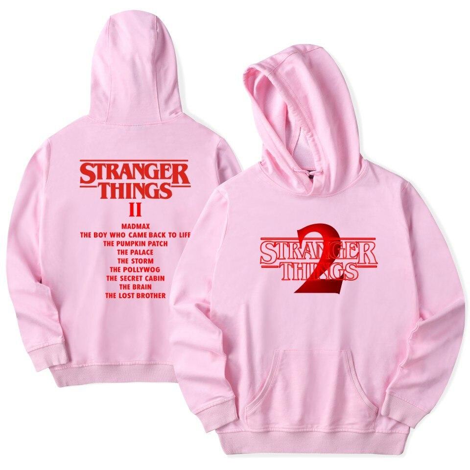 Image 4 - Stranger Things Hoodie 2019 New Hot TV America Sweatshirt Millie Bobby Brown Hoody Men Hip Hop Casual Fashion Hoodies-in Hoodies & Sweatshirts from Men's Clothing