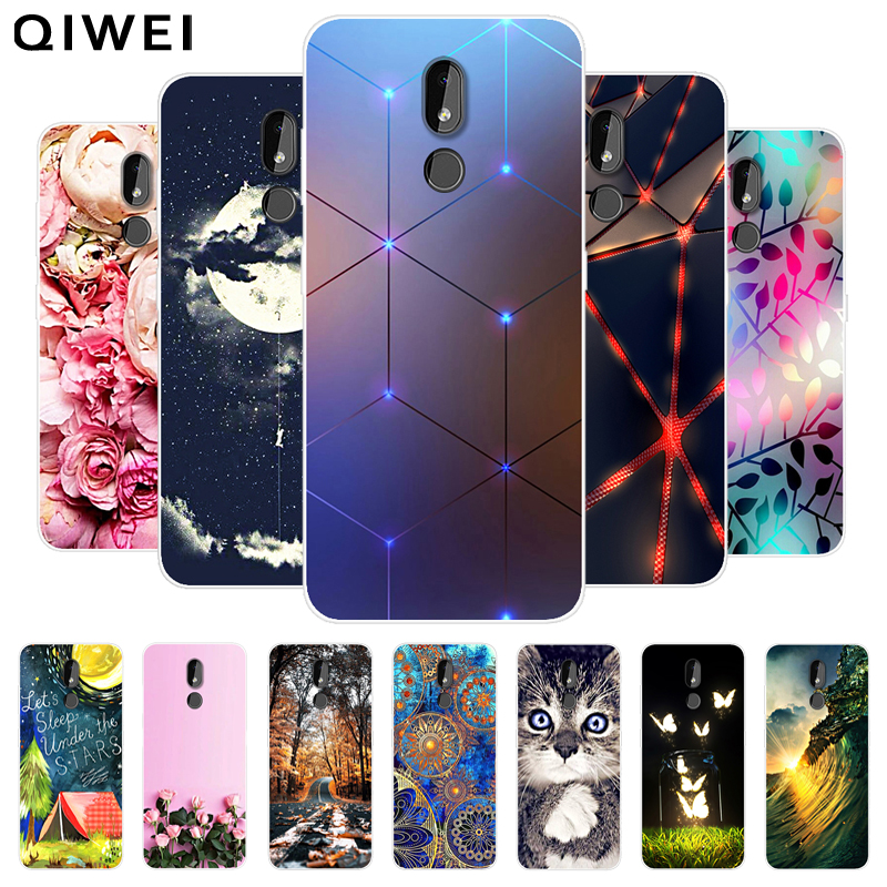 For <font><b>Nokia</b></font> <font><b>3.2</b></font> Case <font><b>2019</b></font> Fashion silicon Soft TPU Back Cover Coque For <font><b>Nokia</b></font> <font><b>3.2</b></font> 4.2 2.2 Phone Cases Funda Coque For Nokia3.2 image