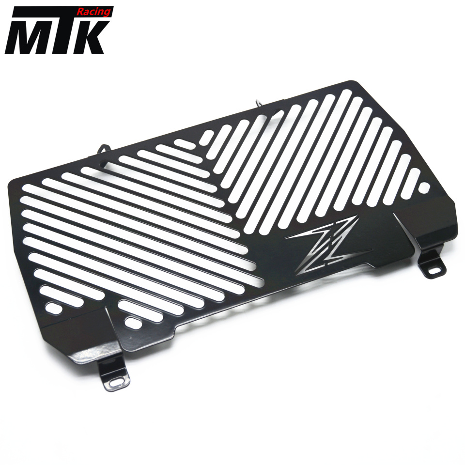 MTKRACING Free delivery For Kawasaki Z900 Z 900 z900 2017 Motorcycle radiator grille guard protection Water tank guard motorcycle radiator grille grill guard cover protector golden for kawasaki zx6r 2009 2010 2011 2012 2013 2014 2015