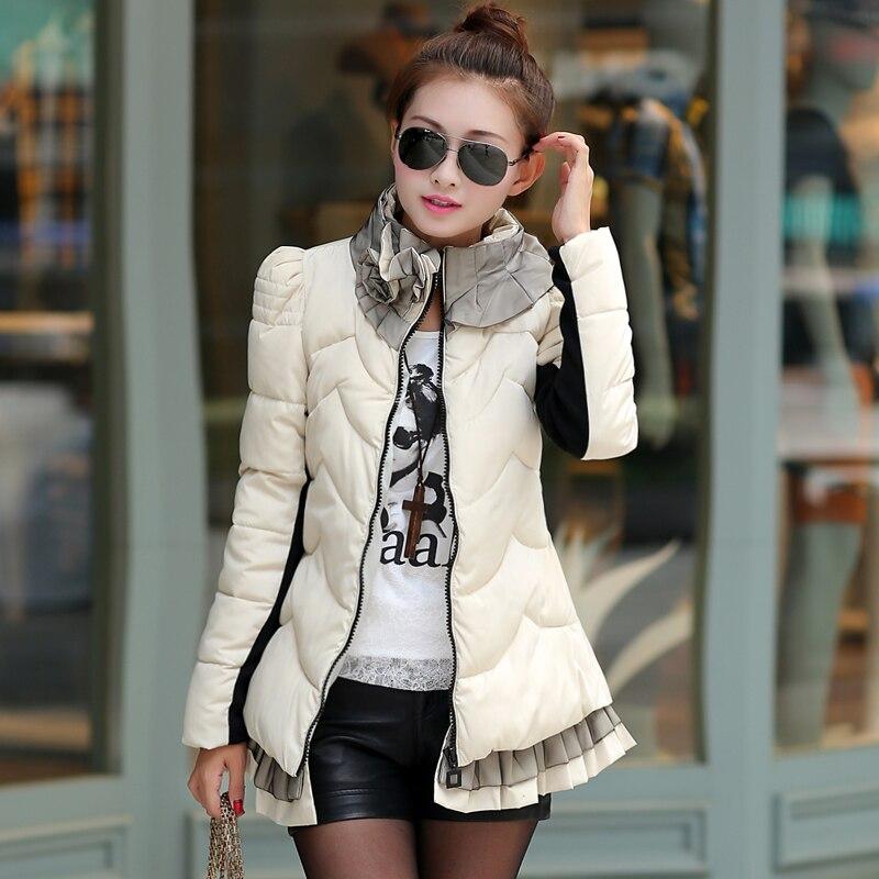 ФОТО 2016 Winter Jacket Women Short Warm Coat Fashion Parkas Outear Free Shipping Manteau Femme Manteau Hiver