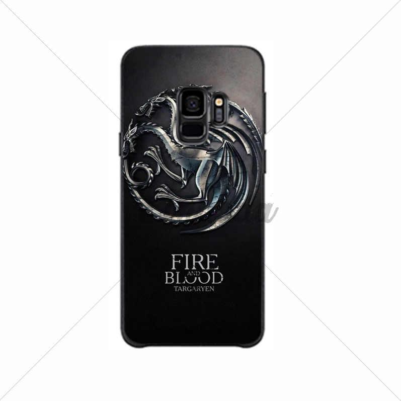 Yinuoda Game Thrones Popular Custom TPU Phone Cover For GALAXY  s7 edge s8 plus s9 plus s6  s10