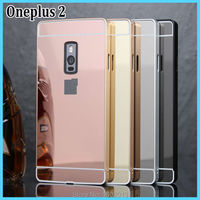 One Plus Two Metal Frame Case Cover With Plating Back Cover Hard Case For Oneplus 2