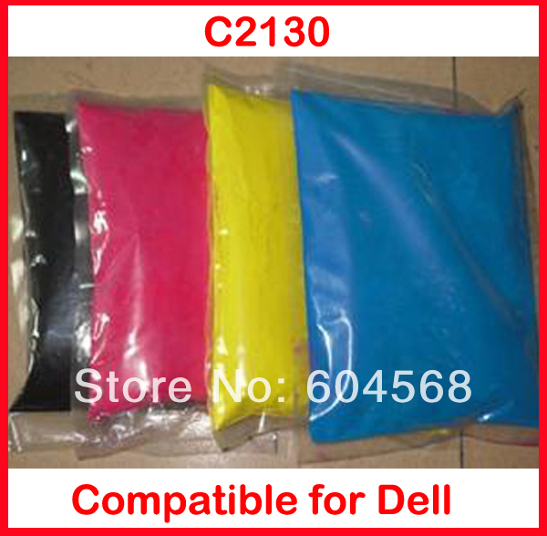 High quality color toner powder compatible Dell C2130 Free Shipping