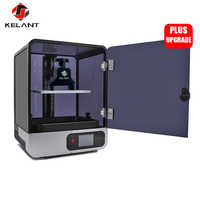 Kelant s400 LCD DLP 3D Printers 8.9inch 2K laser 3d Printer large Photon UV Resin SLA Light-Cure 192*120*200MM impresora diy kit