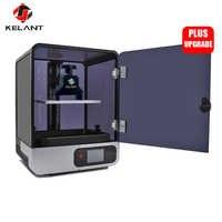 Kelant S400 LCD DLP 3D impresoras 8,9 pulgadas 2K láser 3d impresora fotón UV resina SLA luz cura 192*120*200MM impresora diy kit de S400s