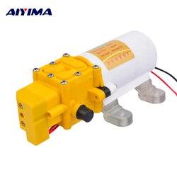 Aiyima Micro Diaphragm Pump DC12V High Pressure Electric Sprayer Self-priming Car Washer Pump Fighter Pumps Smart shutdown