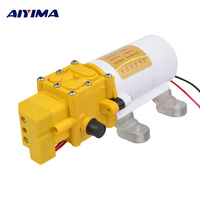 Aiyima Micro Diaphragm Pump DC12V High Pressure Electric Sprayer Self priming Car Washer Pump Fighter Pumps Smart shutdown