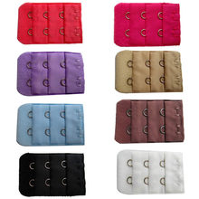 sexy underwear sexy nipple pasties nipple covers sexy dress Elastic Bra Lengthened Buckle Extension Bra Buckle Three Rows Of Tw(China)