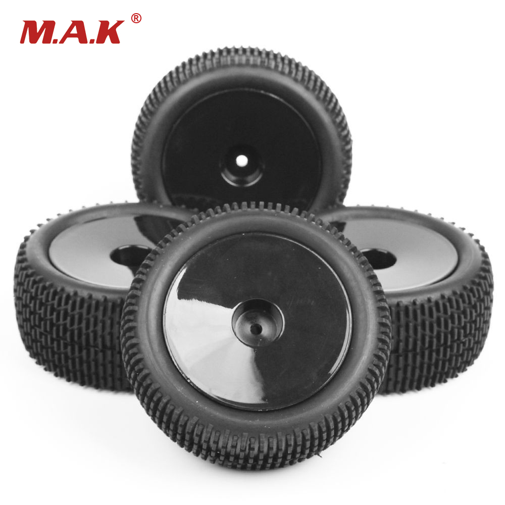 RC Car Model Off-Road Buggy Tires And Wheel Rim 25026+27013 For HSP HPI 1/10 RC Buggy Car Toys Accessories hsp 02024 differential diff gear complete 38t for 1 10 rc model car spare parts fit buggy monster