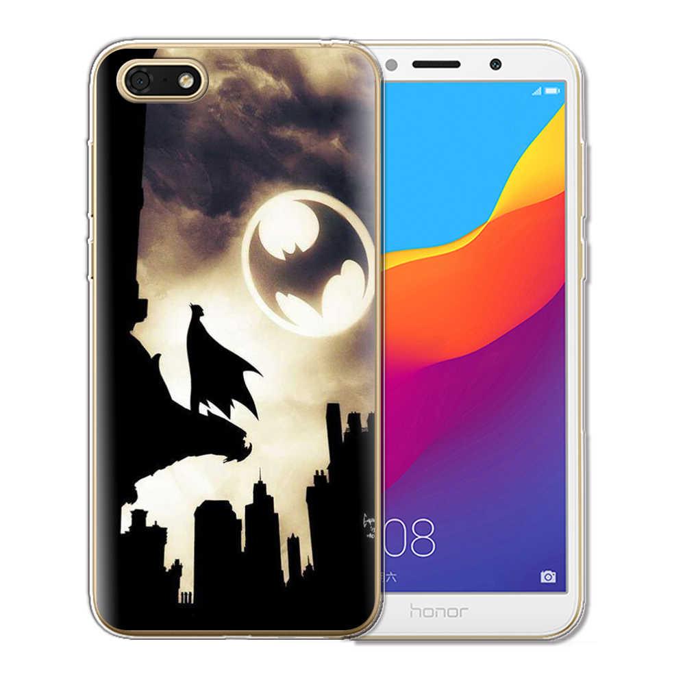 Venom кейс из ТПУ для телефона с изображением цветов для huawei Y6 Prime 2018 Honor 7A Pro силиконовый чехол для телефона, чехол для huawei Honor 10 9 8 Lite Honor 7A телефонные чехлы
