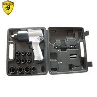 1 2 Double Hammer Air Impact Wrench Setting With Sockets Two Hammers For Assemble And Disassemble