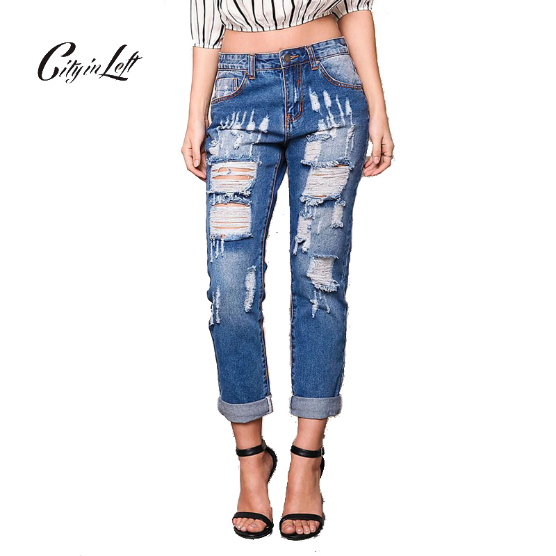 Popular Sexy Ripped Jeans-Buy Cheap Sexy Ripped Jeans lots from ...